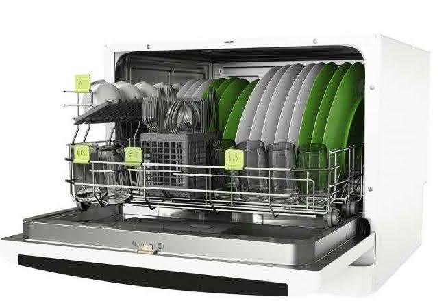 lava-louça compacta com ciclo pesado